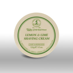 Taylor of Old Bond Street Shave Cream Pot Lemon Lime