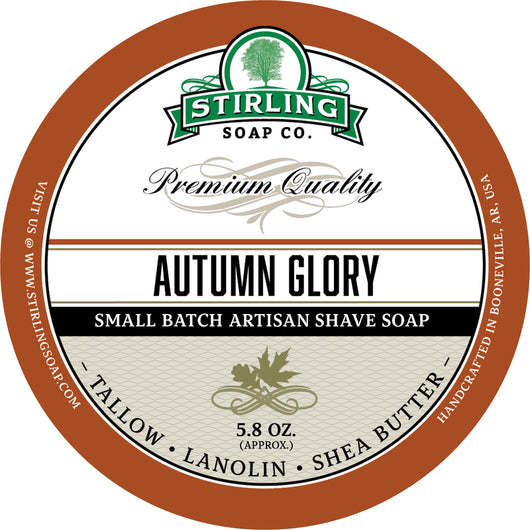 Stirling Shave Soap Autumn Glory