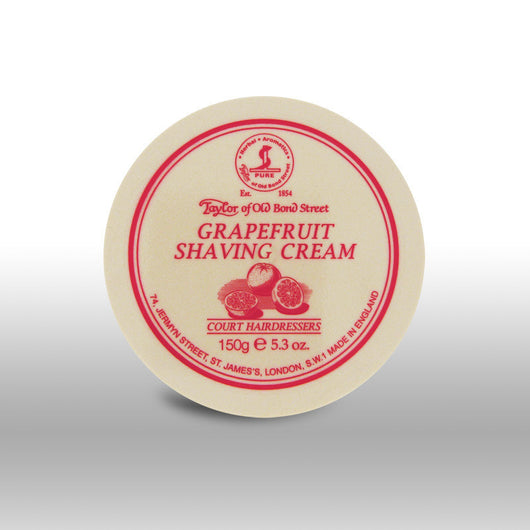 Taylor of Old Bond Street Shave Cream Pot Grapefruit