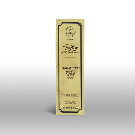 Taylor of Old Bond Street Shave Cream Tube Sandalwood