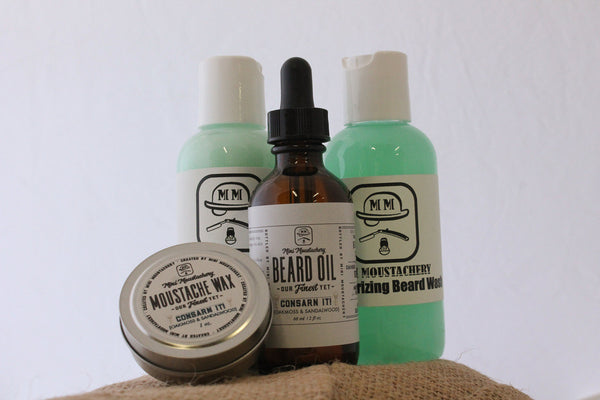 Mini Moustachery Beard Kit Basic