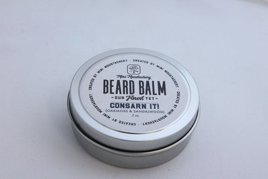 Mini Moustachery Balm Consarn Oakmoss/Sandalwood