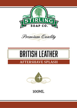 Stirling Aftershave British Leather