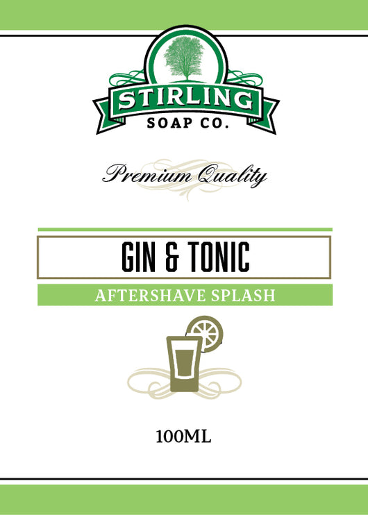 Stirling Aftershave Gin & Tonic