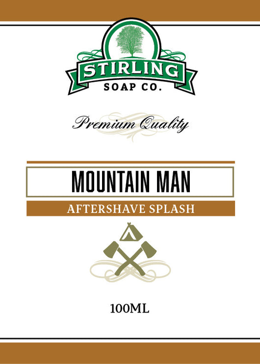 Stirling Aftershave Moutain Man