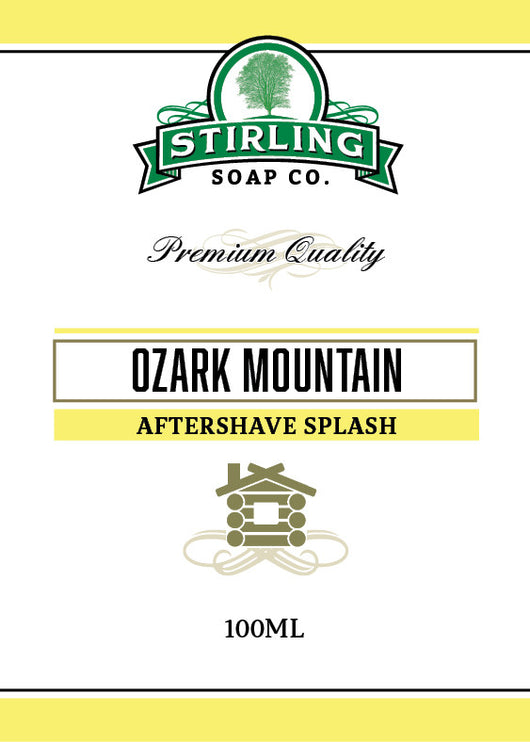 Stirling Aftershave Ozark Mountain