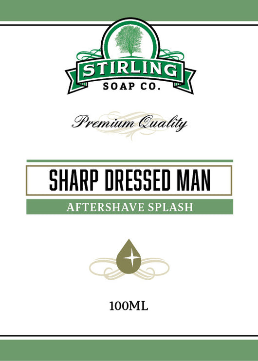 Stirling Aftershave Sharp Dressed Man