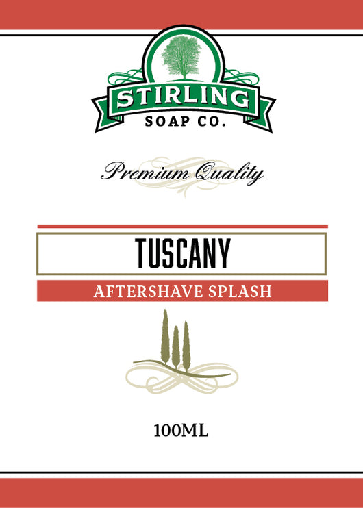 Stirling Aftershave Tuscany