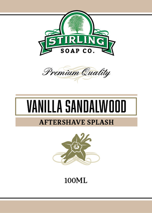 Stirling Aftershave Vanilla Sandalwood