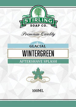 Stirling Aftershave Glacial, Wintergreen