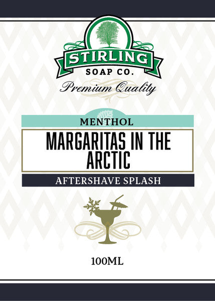 Stirling Aftershave Margaritas in  the Arctic