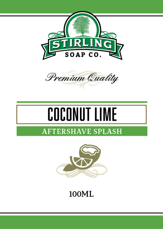 Stirling Aftershave Coconut Lime