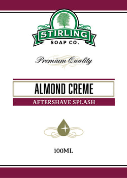 Stirling Aftershave Almond Creme