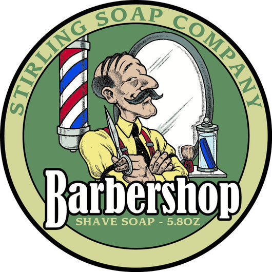 Stirling Shave Soap Barbershop