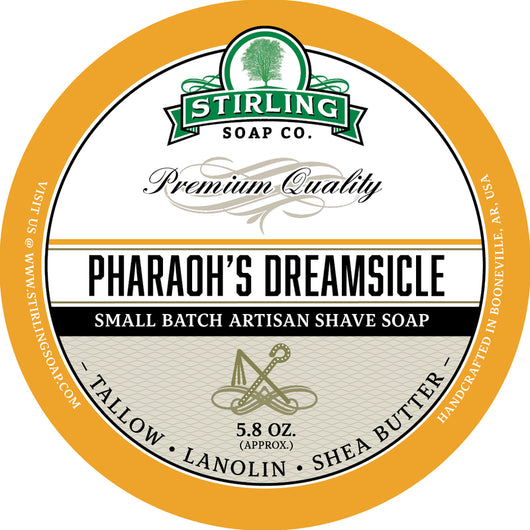 Stirling Shave Soap Pharaoh's Dreamsicle