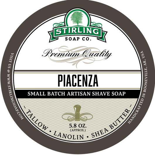 Stirling Shave Soap Piacenza