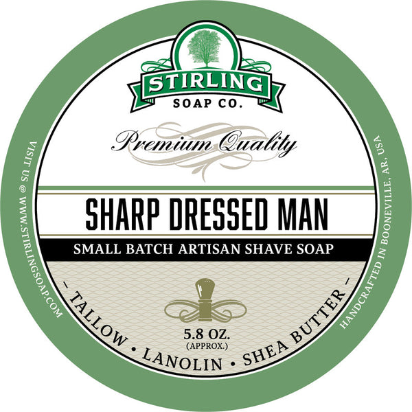 Stirling Shave Soap Sharp Dressed Man