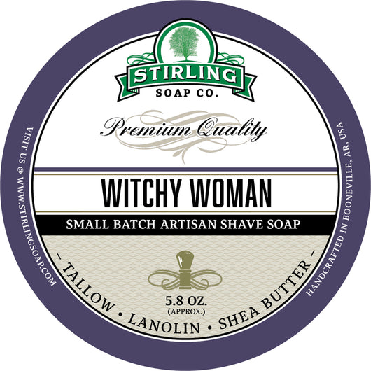 Stirling Shave Soap Witchy Woman