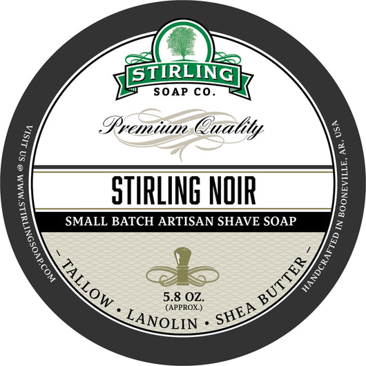 Stirling Shave Soap Stirling Noir