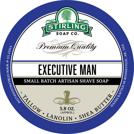 Stirling Shave Soap Executive Man