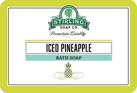 Stirling Bath Soap Iced Pineapple