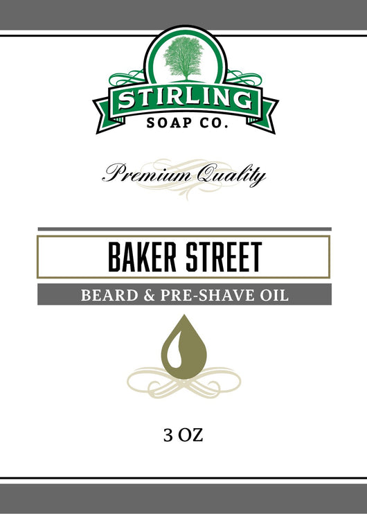 Stirling Beard & Pre-Shave Oil Baker Street