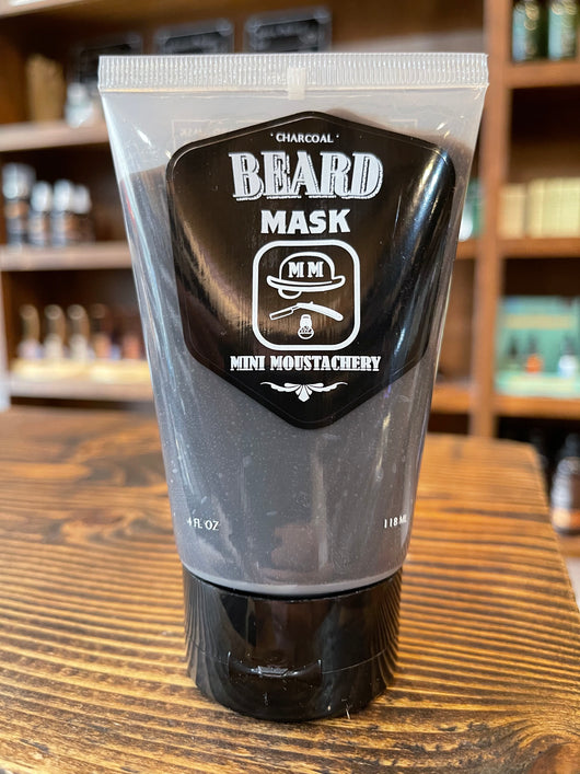 MM Black Clay & Charcoal Beard Mask
