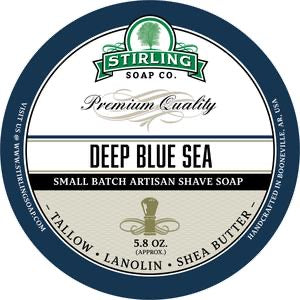 Stirling Shave Soap Deep Blue Sea
