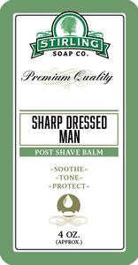 Sharp Dressed Man Post Shave Balm