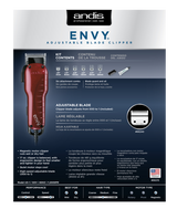 Andis Envy Adjustable Blade Clipper