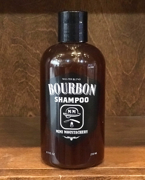 Mini Moustachery Beard Shampoo Bourbon