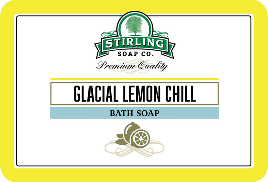 Stirling Bath Soap Glacial Lemon Chill