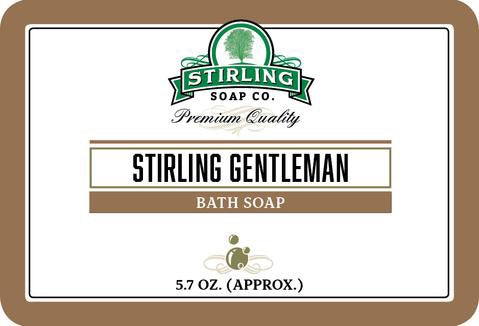 Stirling Bath Soap Stirling Gentleman
