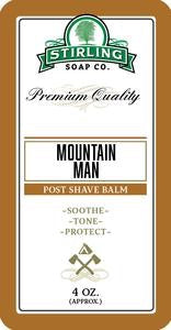 Mountain Man Post Shave Balm