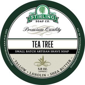 Stirling Shave Soap Tea Tree