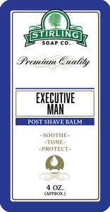 Executive Man Post Shave Balm