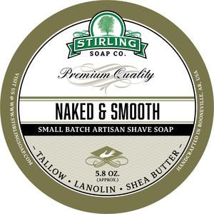 Stirling Shave Soap Naked & Smooth