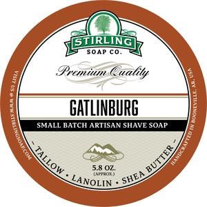Stirling Shave Soap Gatlinburg