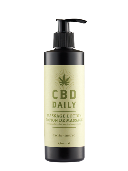 Earthly Body Hemp Daily Massage Lotion