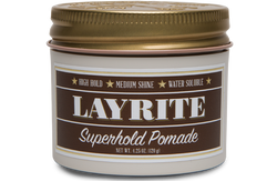 LAYRITE Superhold Pomade 4 0z