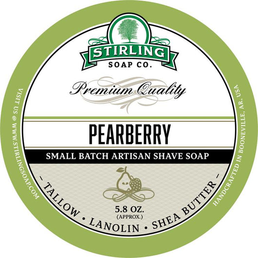 Stirling Shave Soap Pearberry