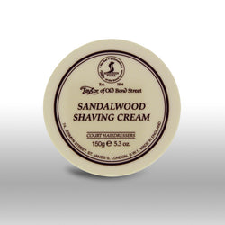 Taylor of Old Bond Street Shave Cream Pot Sandalwood