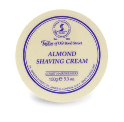 Taylor of Old Bond Street Shave Cream Pot Almond