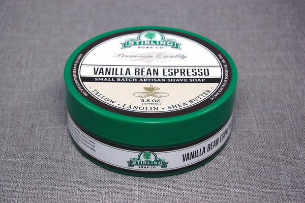 Stirling Shave Soap Vanilla Bean Espresso