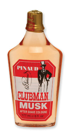 Clubman Aftershave Musk, 6 oz.