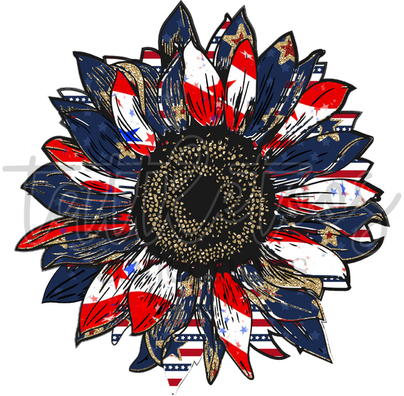 AMERICAN FLAG SUNFLOWER TF3