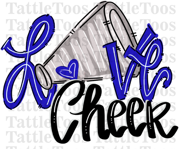 CHEERLOVE ROYAL BLUE TF 1