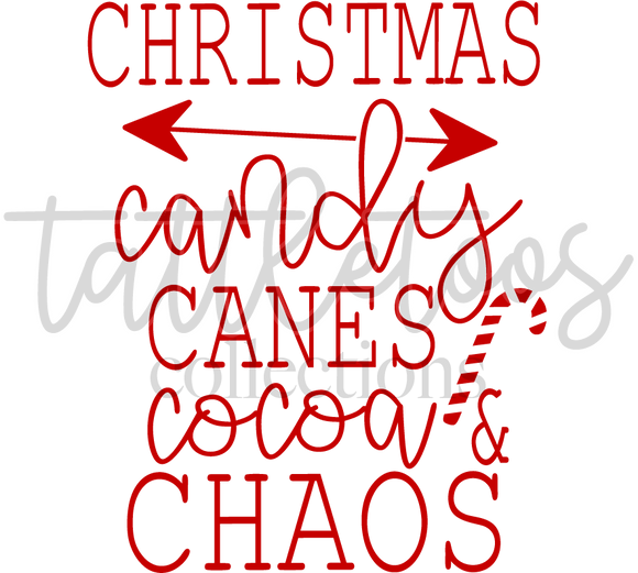 CHRISTMAS CHAOS RED TF1