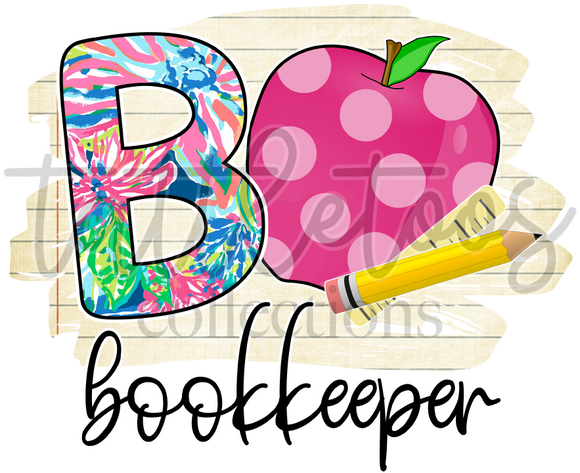 FLORAL BOOKKEEPER TF1