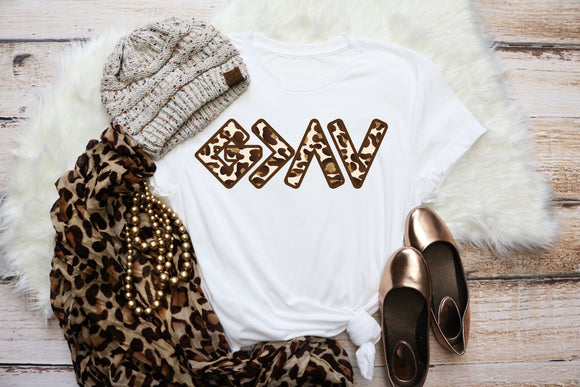GOD IS GREATER LEOPARD TT1